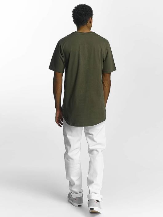 Southpole T-Shirt Zip olive