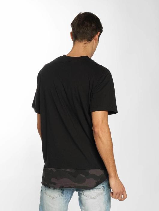 Southpole T-Shirt Pocket schwarz