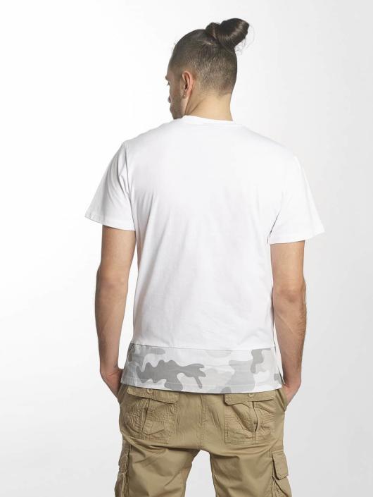 Southpole T-Shirt Pocket weiß