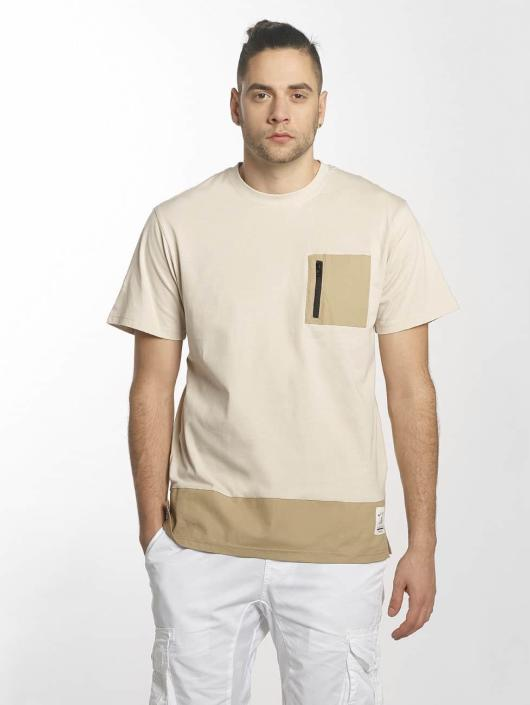 Southpole T-shirts Pocket beige