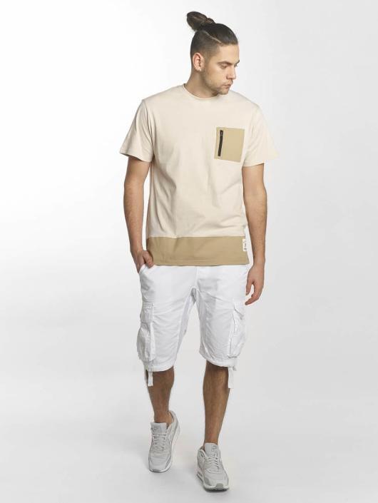 Southpole T-shirts Pocket beige