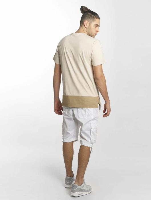 Southpole T-Shirty Pocket bezowy