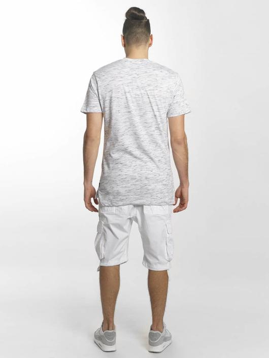 Southpole T-Shirty Marbled bialy