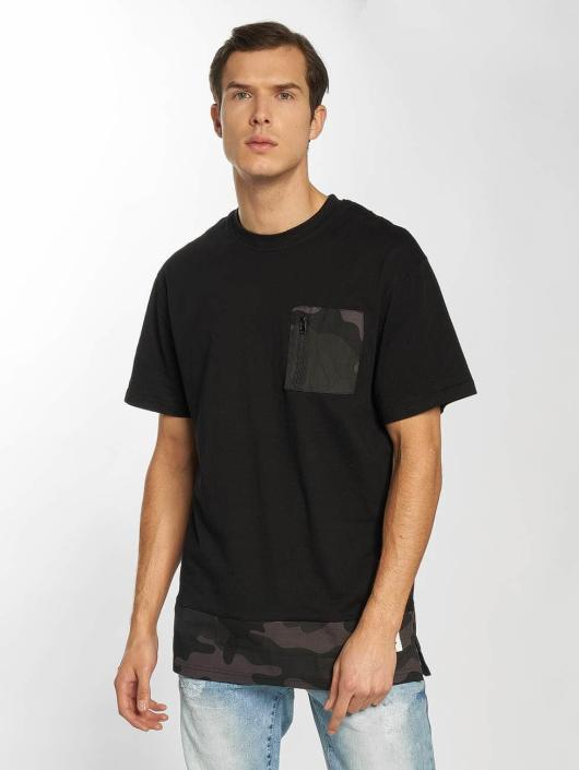 Southpole T-Shirty Pocket czarny
