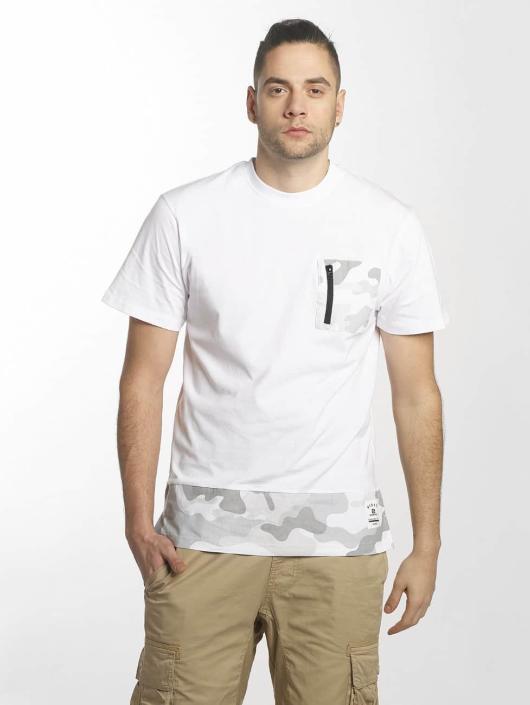 Southpole T-skjorter Pocket hvit