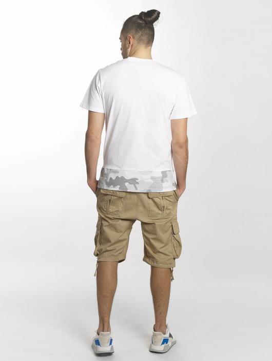 Southpole Tričká Pocket biela