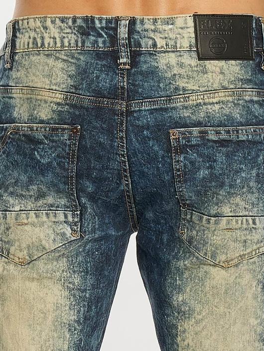 Southpole Tynne bukser Ripped Stretch Denim blå