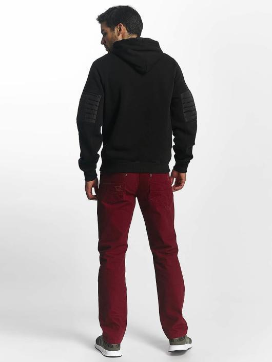 Southpole Zip Hoodie Mesa black