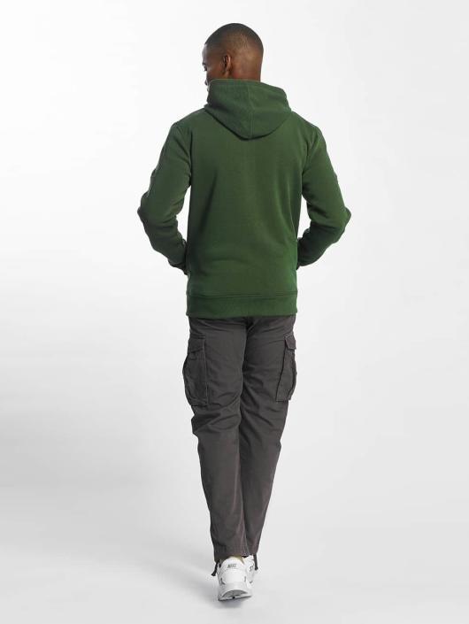 Southpole Zip Hoodie Biker olivový