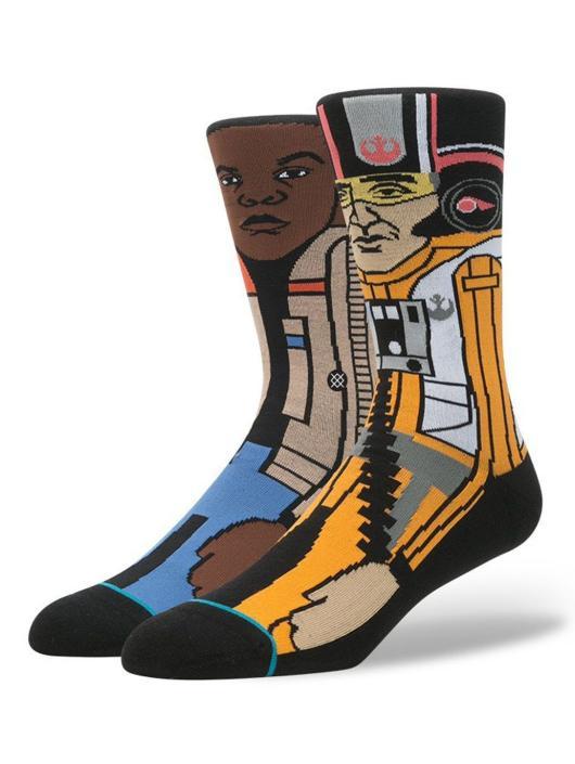 Stance Socks The Resistance grey