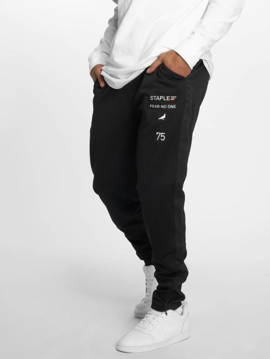 Staple Pigeon joggingbroek Poly Track zwart