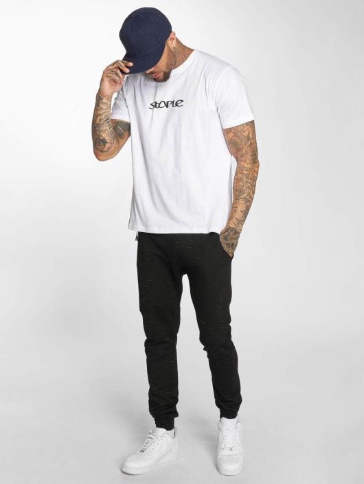 Staple Pigeon T-skjorter Logo hvit