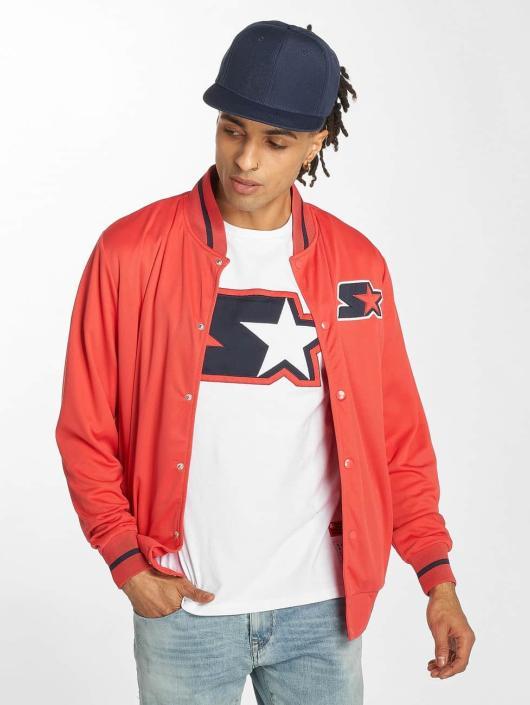 Starter College Jackets Jackson czerwony