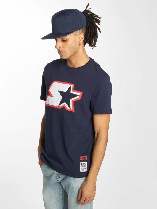 Starter t-shirt Carson blauw