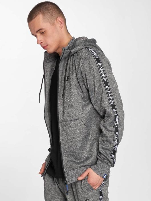 Starter Zip Hoodie Peppers Full Zip gray