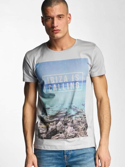Stitch & Soul Camiseta Ibiza gris