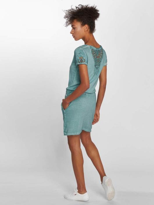 Stitch & Soul jurk Midi blauw