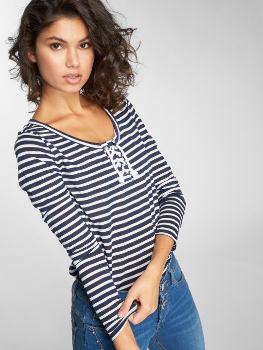 Stitch & Soul Longsleeves Stripes niebieski