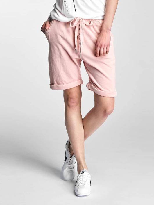 Stitch & Soul Pantalón cortos Sweat rosa