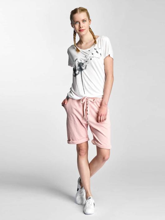 Stitch & Soul Shorts Sweat rosa