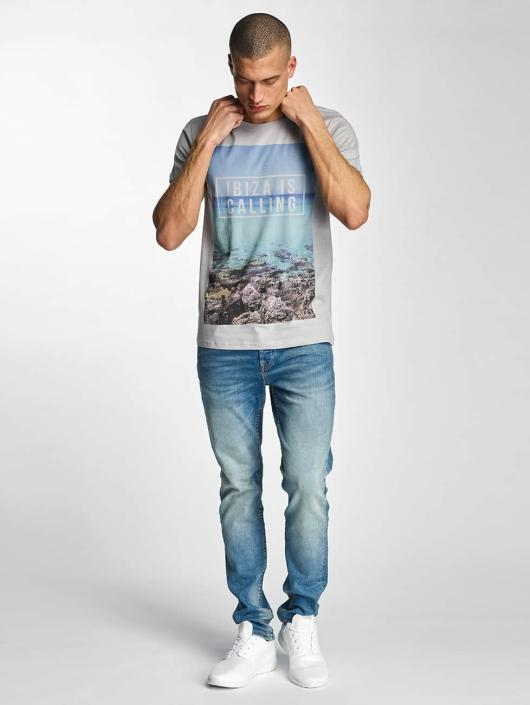 Stitch & Soul T-Shirt Ibiza grau