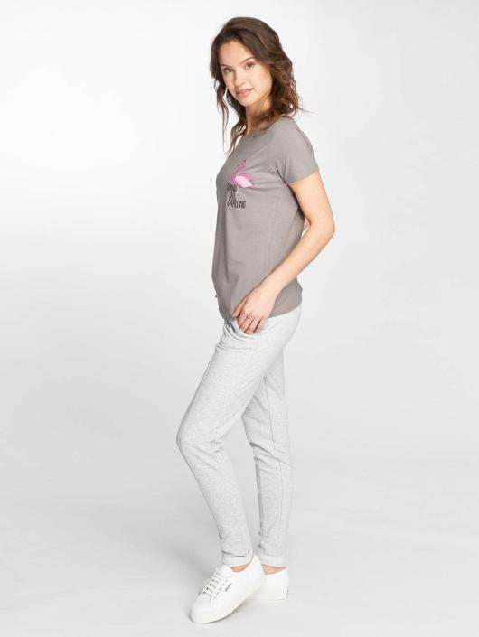 Stitch & Soul T-Shirt Flamingo gray