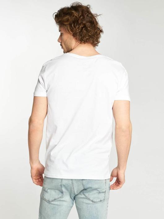 Stitch & Soul T-Shirt Follow The Sun white