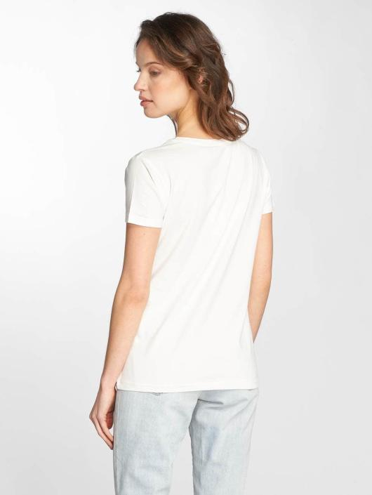 Stitch & Soul T-Shirt Flamingo white