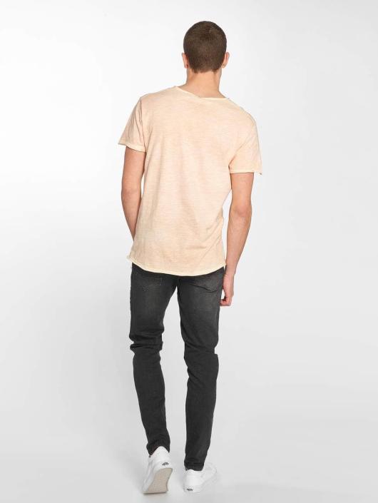 Stitch & Soul T-Shirty Basic pomaranczowy