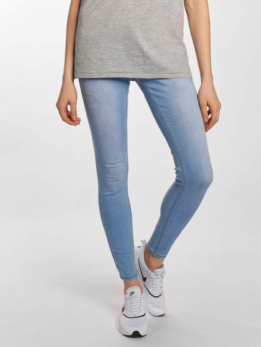 Sublevel Облегающие джинсы Scala синий