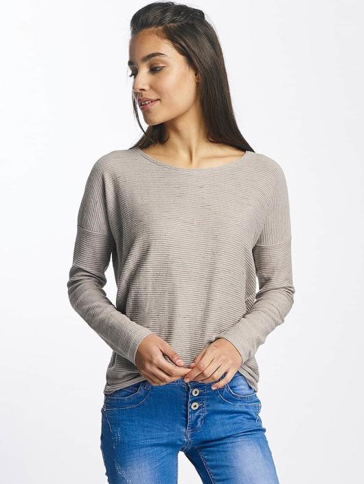 Sublevel Camiseta de manga larga Oversize gris