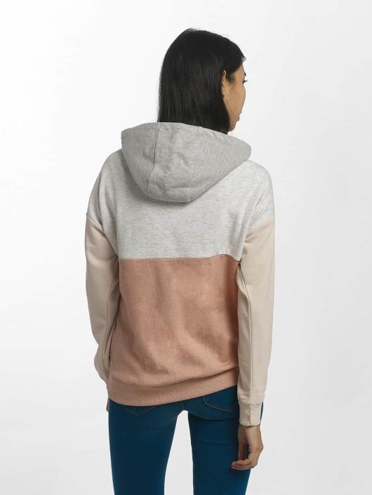 Sublevel Felpa con cappuccio Blocky rosa chiaro