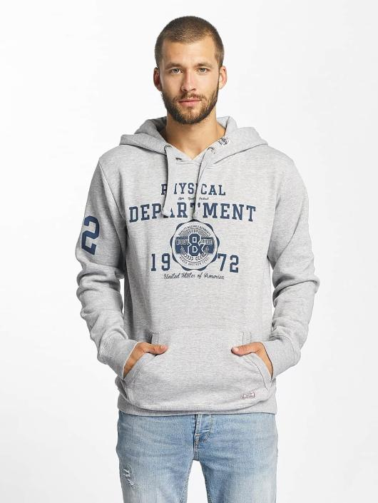Sublevel Hoody Printed grau