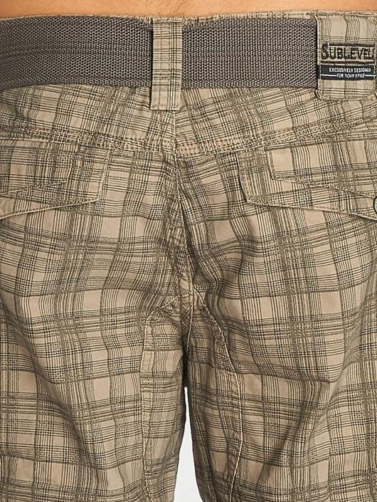 Sublevel Shorts Cargo grau