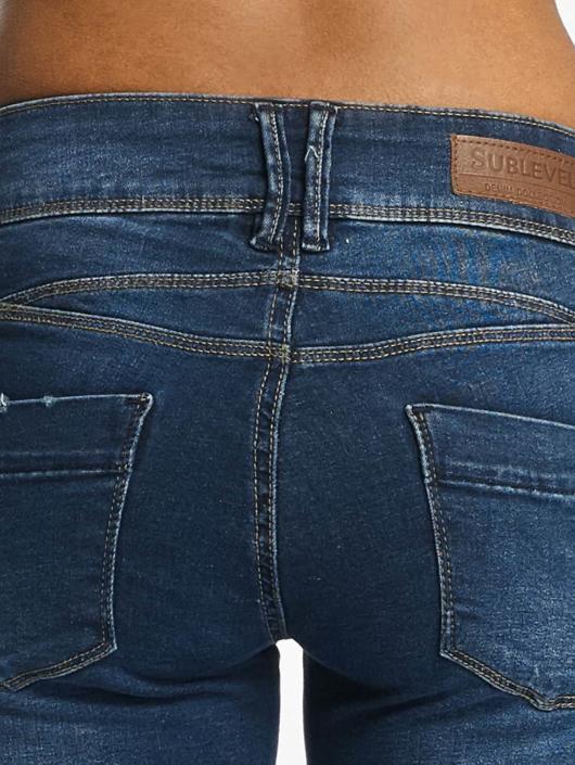 Sublevel Skinny Jeans Palila Super Stretch niebieski