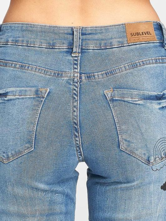 Sublevel Slim Fit Jeans inlove blauw