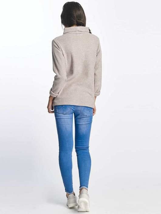 Sublevel Sweat & Pull High Neck gris