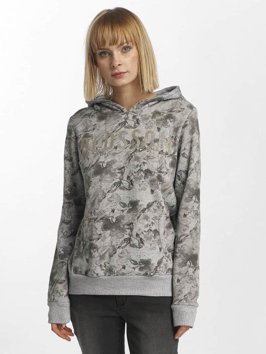 Print Sublevel 415845 Gris Sweat Femme Allover Capuche SVqzLUpGM