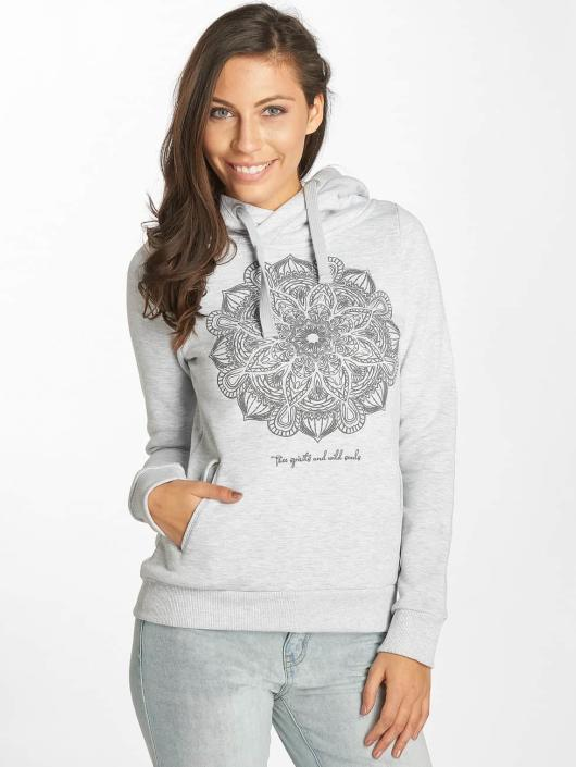 Sublevel Sweat capuche Mandala gris