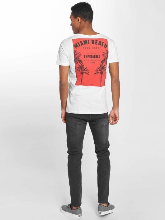 Sublevel T-Shirt T blanc