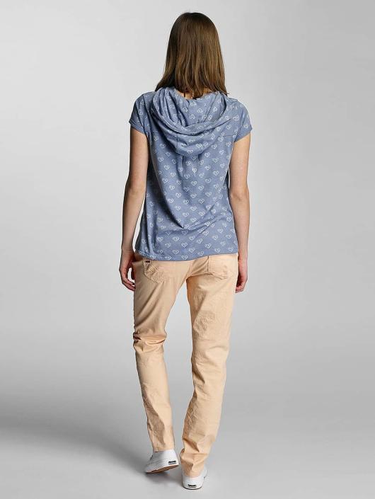 Sublevel T-Shirt Hearts blau