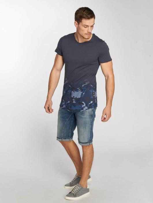 shirt T 449276 Deep Camo Sublevel Bleu Homme PuZTwiOkX