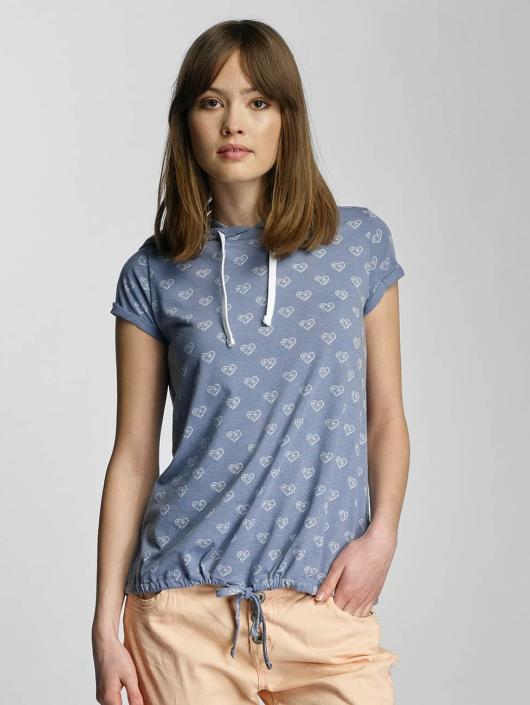 Sublevel T-Shirt Hearts blue