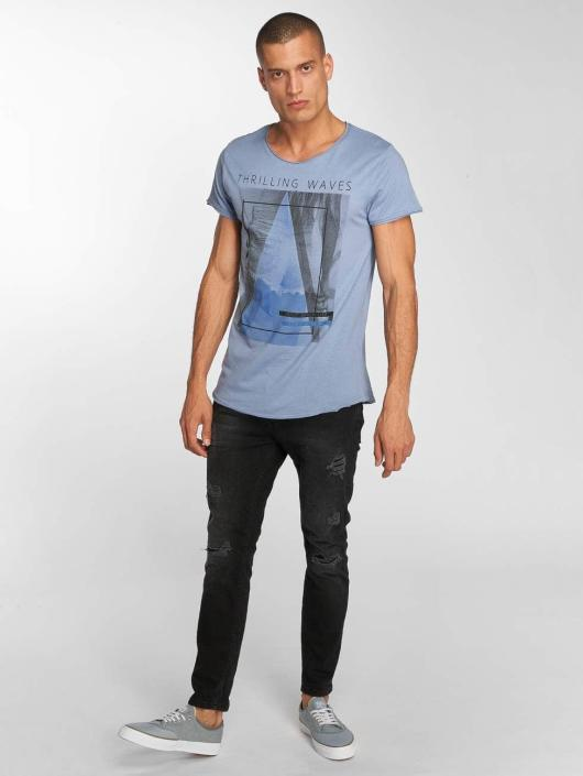 Sublevel T-Shirt Beachlife blue