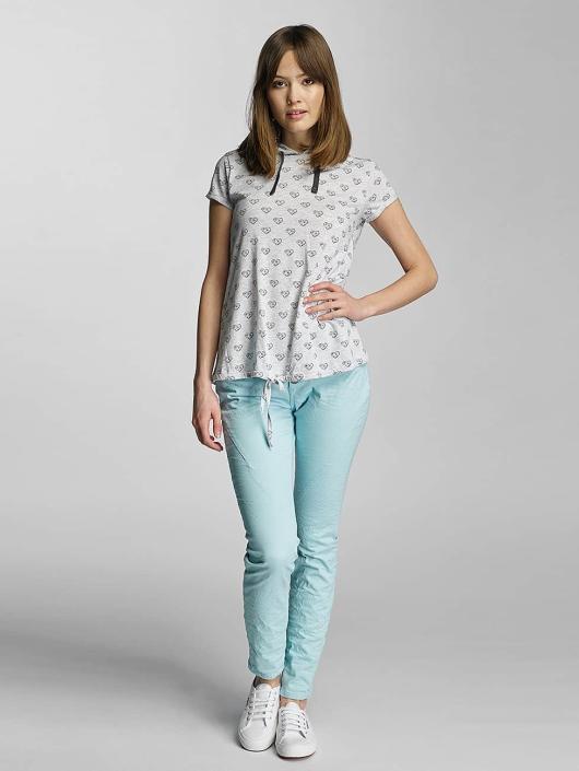 Sublevel T-Shirt Hearts gray