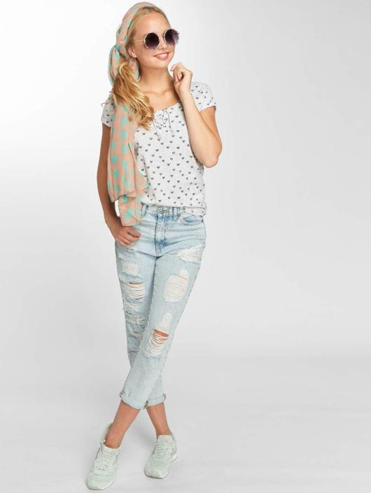 Sublevel T-Shirt Hearts gris