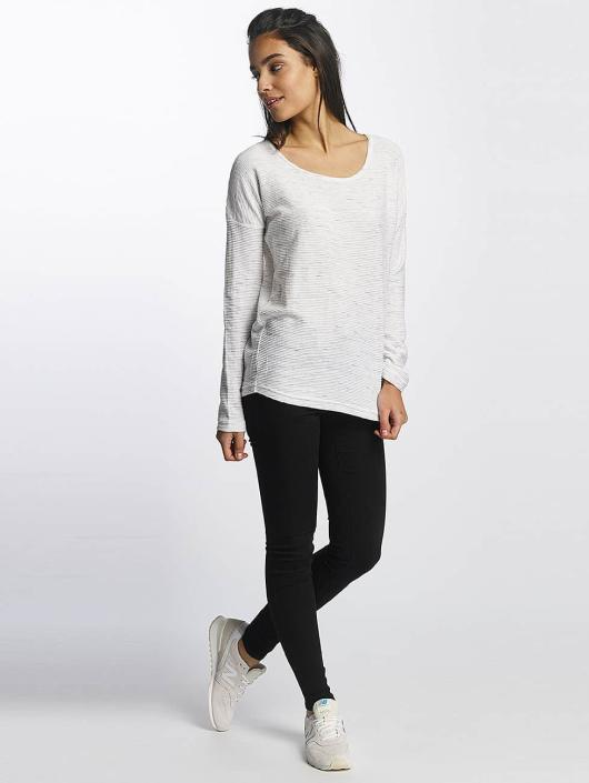 Sublevel T-Shirt manches longues Oversize blanc