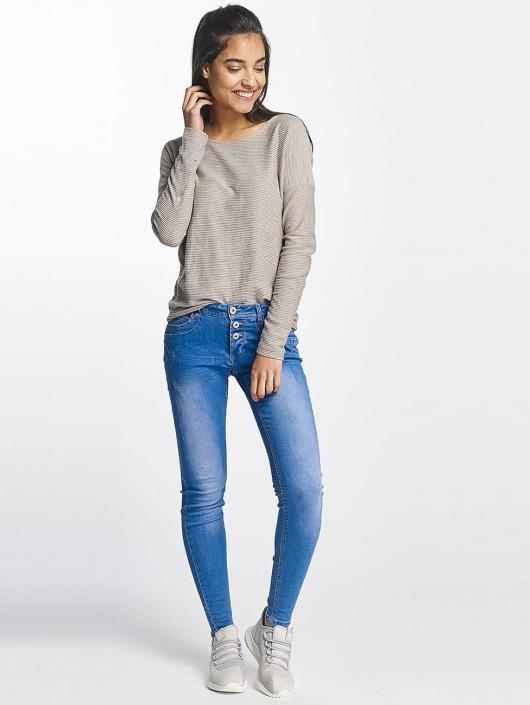 Sublevel T-Shirt manches longues Oversize gris