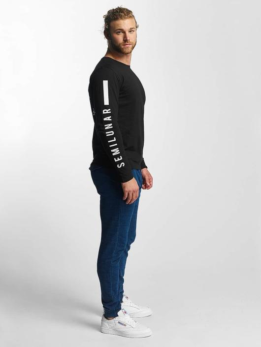 Sublevel T-Shirt manches longues Fullmoon Semilunar noir