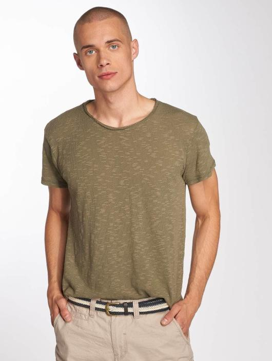 Sublevel t-shirt Ripp olijfgroen